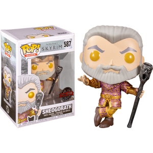 Pop! Games: The Elder Scrolls - Sheogorath with Wabbajack (Metallic) [Exclusive] - Sheldonet Toy Store
