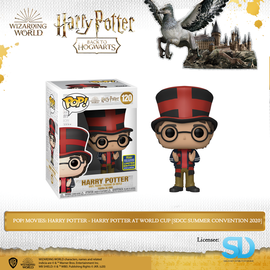 [In-Stock] Pop! Movies: Harry Potter - Harry Potter At World Cup [SDCC Summer Convention 2020] - Sheldonet Toy Store