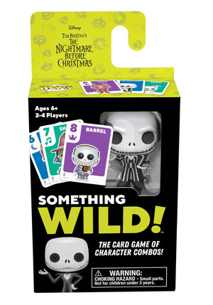 Funko's Signature Games:  Something Wild Card Game - Nightmare Before Christmas - Sheldonet Toy Store