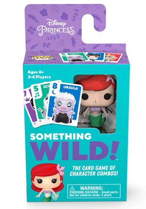 Funko's Signature Games:  Something Wild Card Game - The Little Mermaid - Sheldonet Toy Store