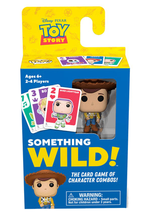 Funko's Signature Games:  Something Wild Card Game - Toy Story - Sheldonet Toy Store