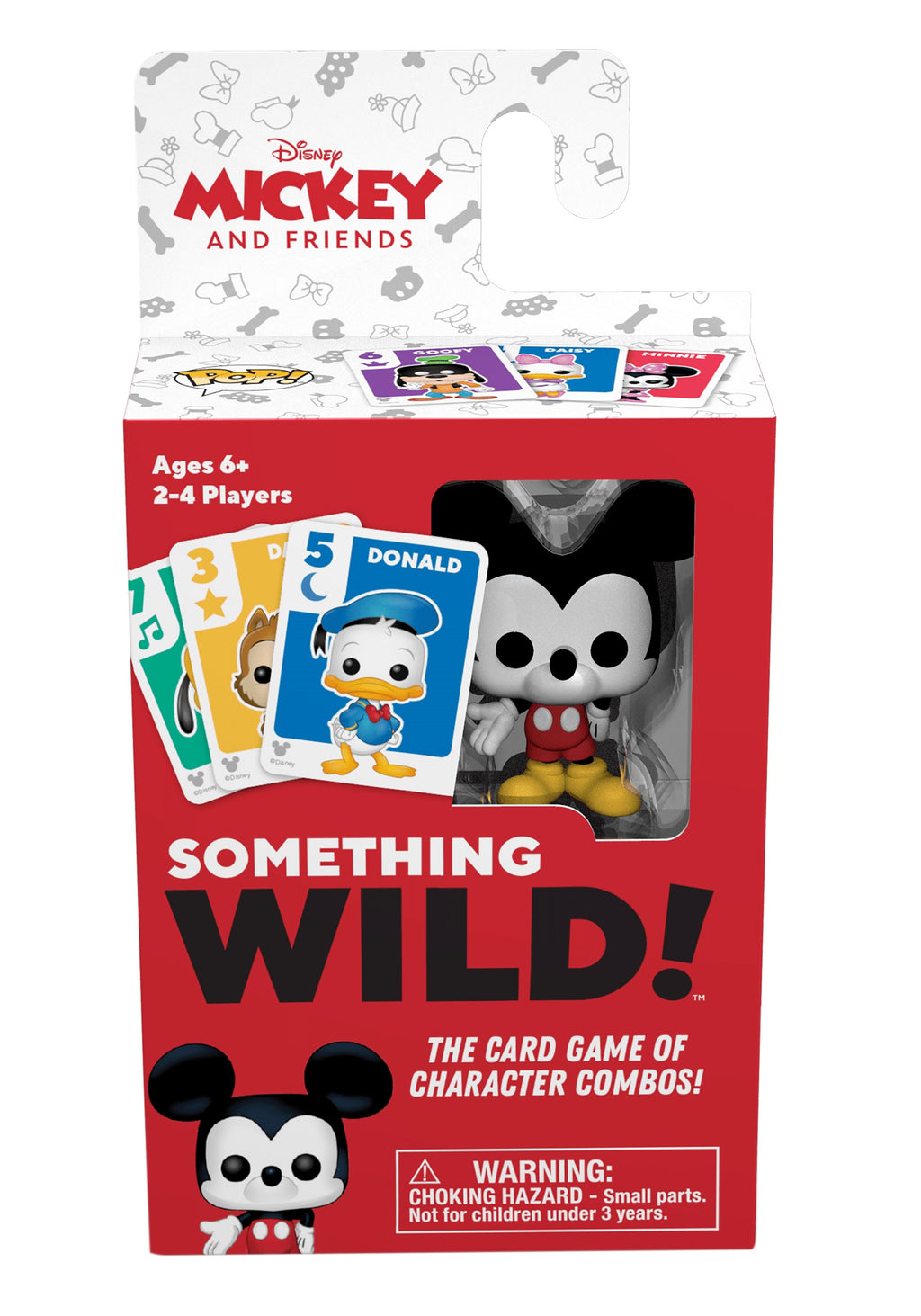 Funko's Signature Games:  Something Wild Card Game - Mickey & Friends - Sheldonet Toy Store