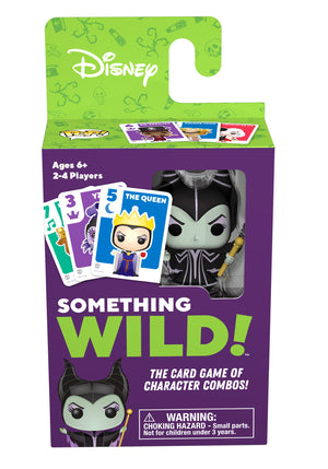 Funko's Signature Games:  Something Wild Card Game - Villains - Sheldonet Toy Store