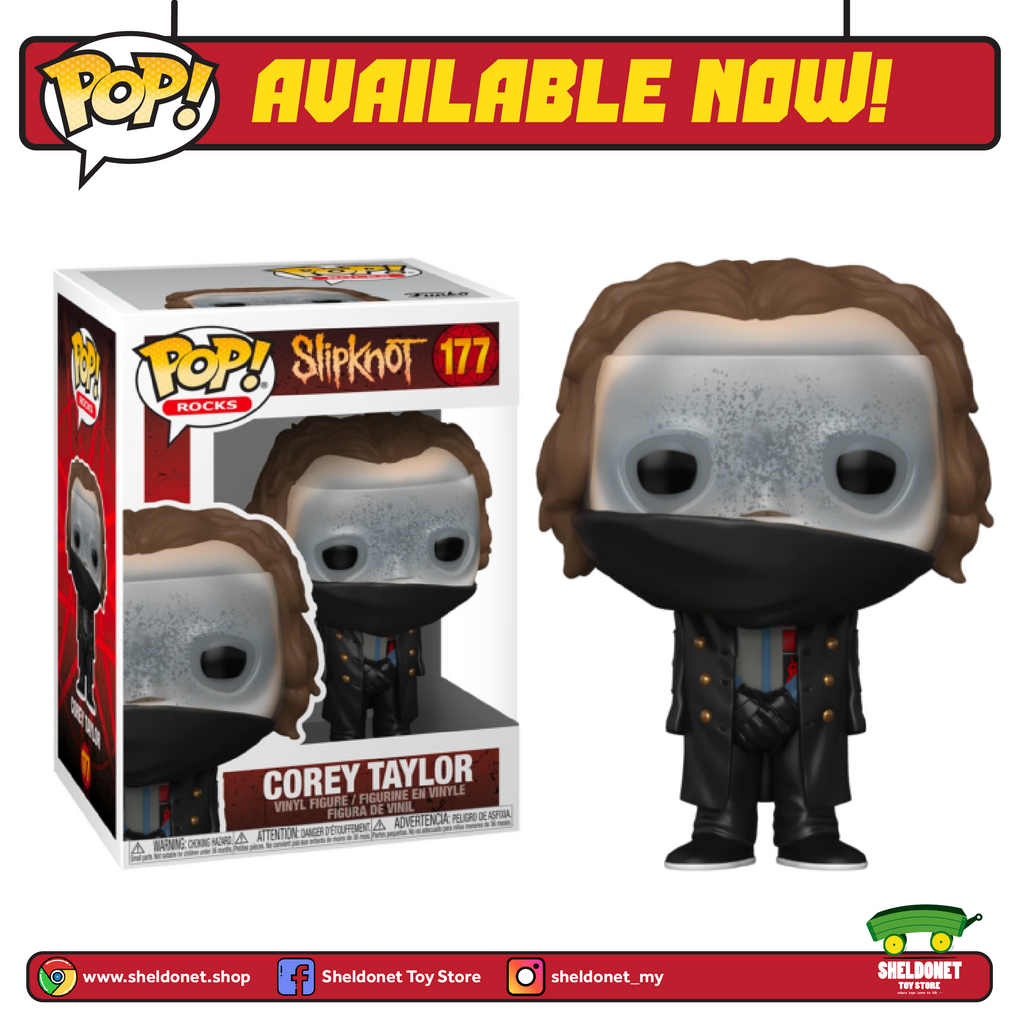 Pop! Rocks: Slipknot - Corey Taylor - Sheldonet Toy Store