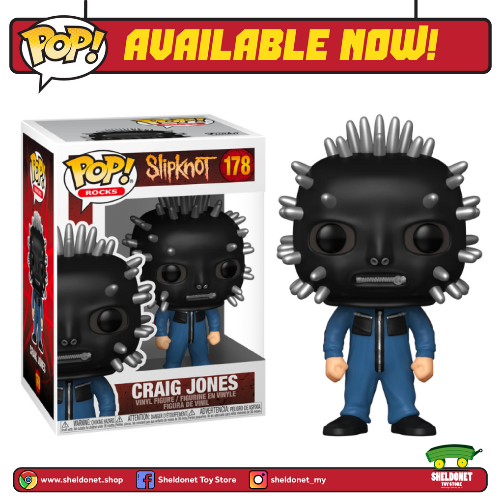 Pop! Rocks: Slipknot - Sid Wilson - Sheldonet Toy Store