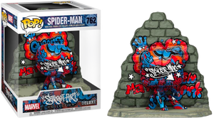 Pop! Deluxe: Marvel - Spider-Man (Graffiti Deco) [Exclusive] - Sheldonet Toy Store