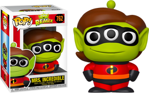 Pop! Disney: Pixar - Alien as Mrs. Incredible - Sheldonet Toy Store