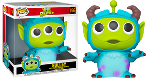 "Pop! Disney: Pixar - Alien as Sulley 10"" Inch - Sheldonet Toy Store"