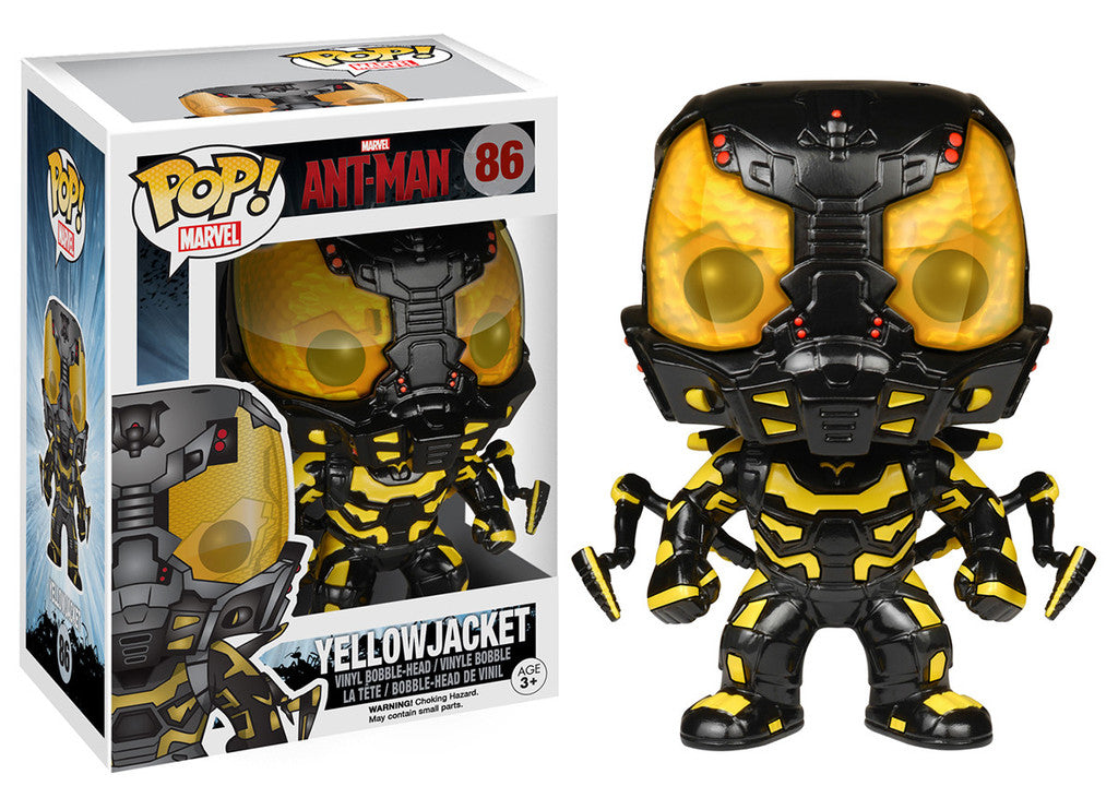 Pop! Marvel: Ant-Man - Yellowjacket - Sheldonet Toy Store
