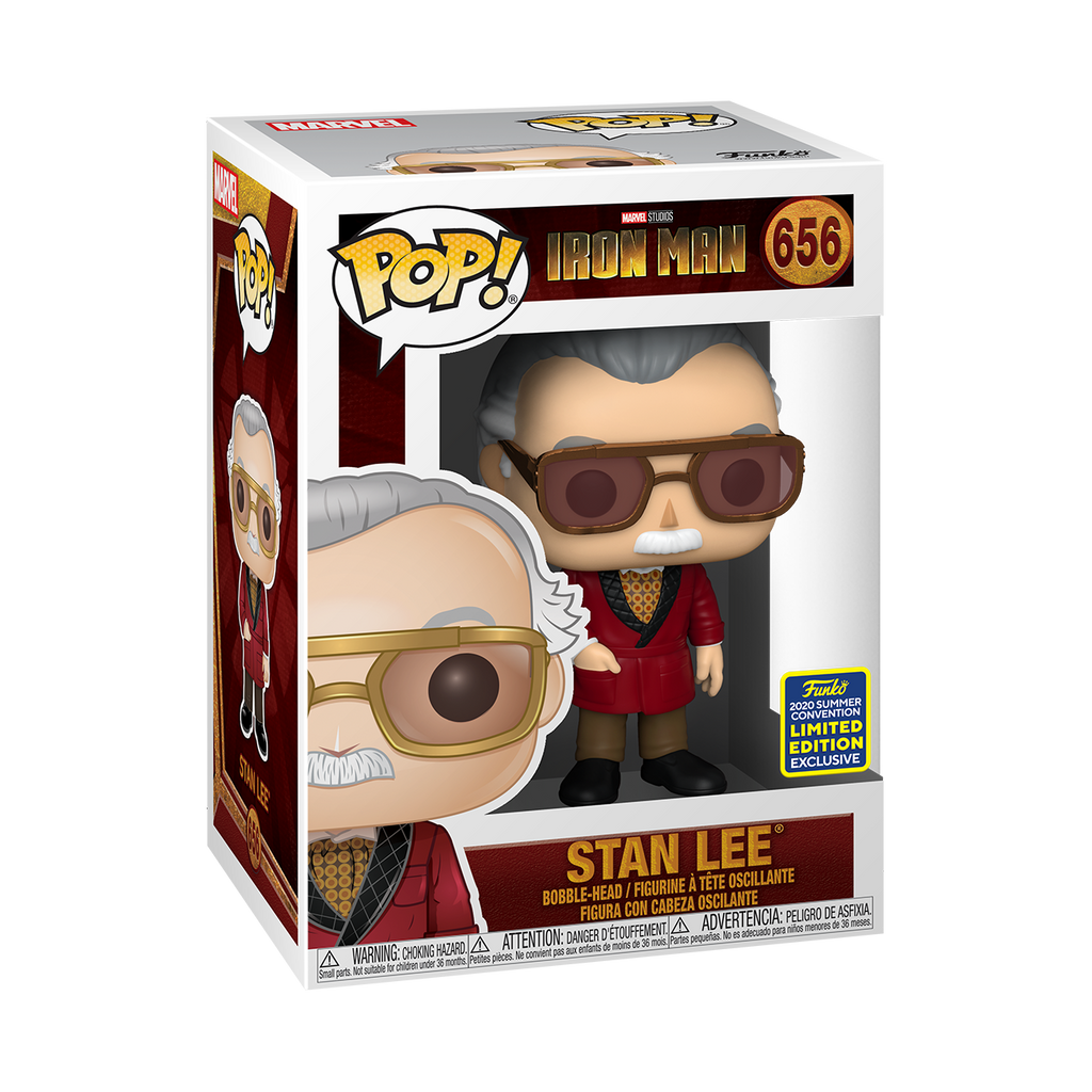 [In-Stock] Pop! Icons: Stan Lee In Smart Suit [SDCC Summer Convention 2020] - Sheldonet Toy Store