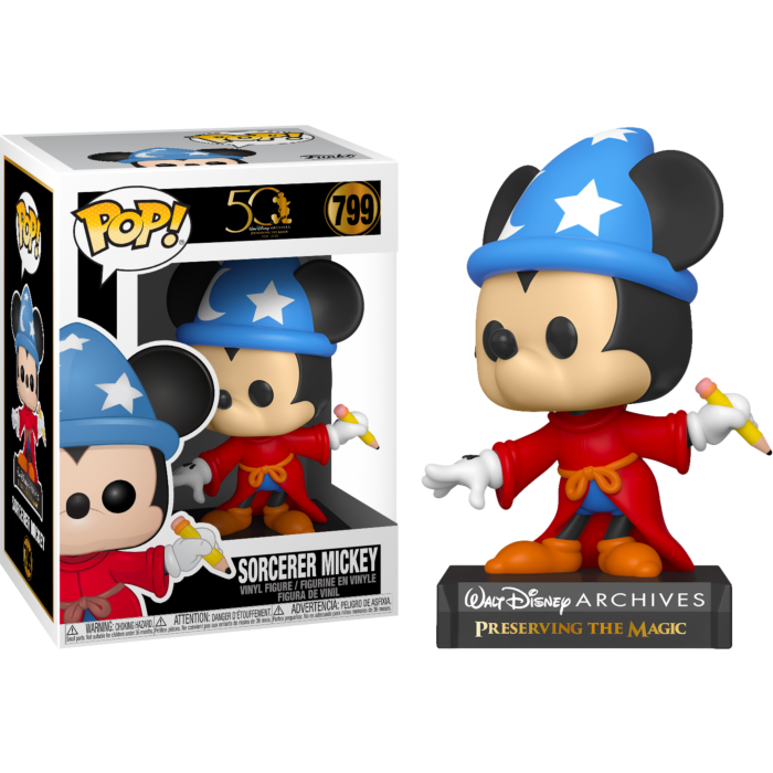 Pop! Disney: Walt Disney Archive - Sorcerer Mickey - Sheldonet Toy Store