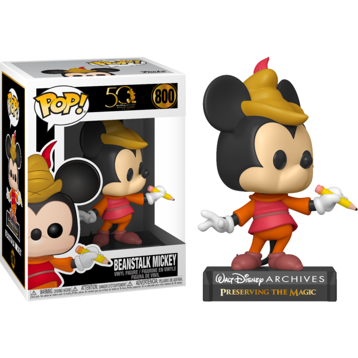 Pop! Disney: Walt Disney Archive - Beanstalk Mickey - Sheldonet Toy Store