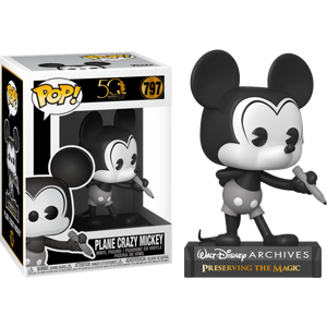 Pop! Disney: Walt Disney Archive - Plane Crazy Mickey - Sheldonet Toy Store