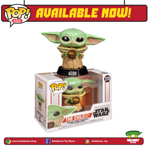 Pop! Star Wars: The Mandalorian - The Child With Cup (Baby Yoda) - Sheldonet Toy Store