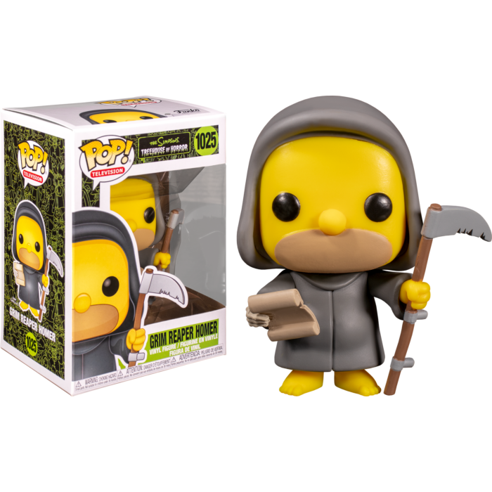 Pop! TV: The Simpsons - Reaper Homer - Sheldonet Toy Store