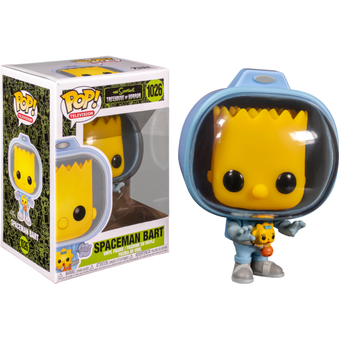 Pop! TV: The Simpsons - Bart with Chestburster Maggie