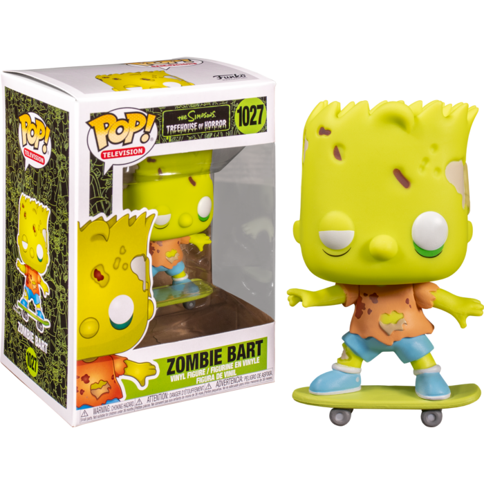 Pop! TV: The Simpsons - Zombie Bart - Sheldonet Toy Store