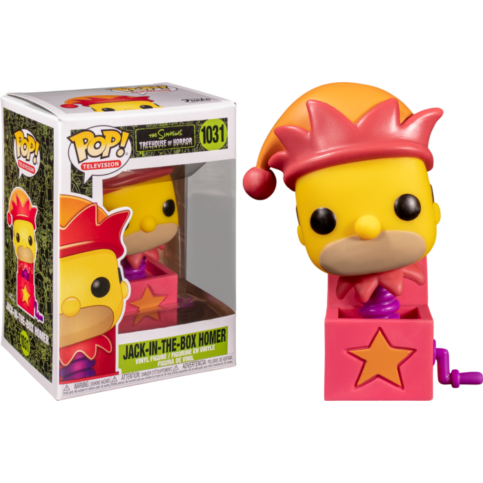 Pop! TV: The Simpsons - Homer Jack-In-The-Box - Sheldonet Toy Store