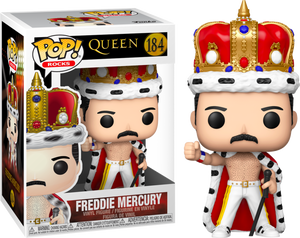 Pop! Rocks: Queen - Freddie Mercury King - Sheldonet Toy Store