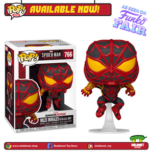 Pop! Games: Miles Morales - Miles Morales in S.T.R.I.K.E Suit - Sheldonet Toy Store