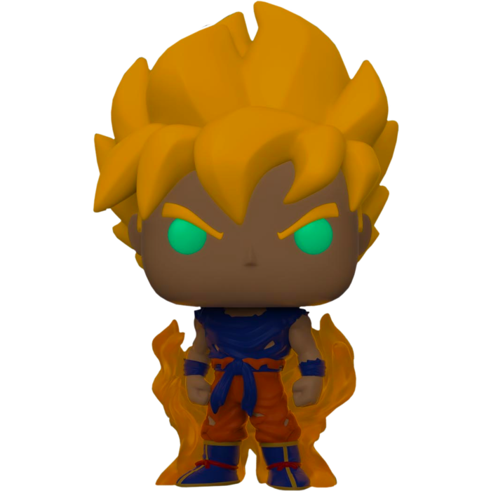 Pop! Animation: Dragon Ball Z - SS Goku (Glow In The Dark) [Exclusive] - Sheldonet Toy Store