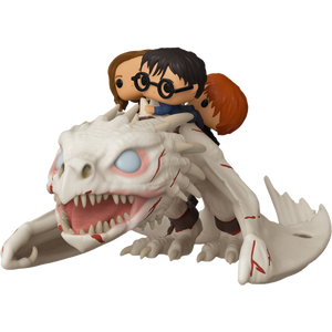 Pop! Rides: Harry Potter - Gringott's Dragon with Harry,Ron and Hermione - Sheldonet Toy Store