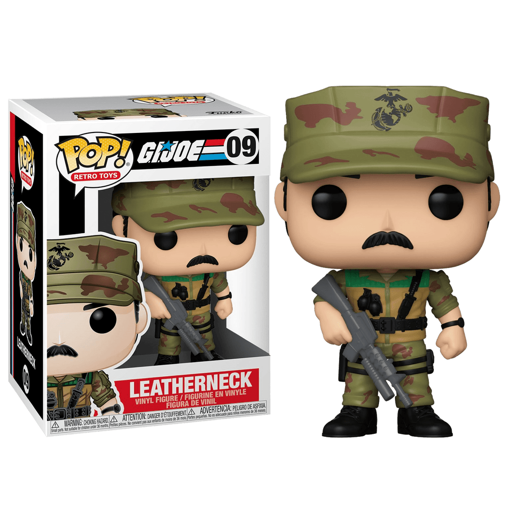 Pop! Vinyl: G.I Joe - Leatherneck - Sheldonet Toy Store