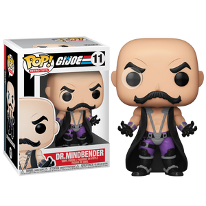 Pop! Vinyl: G.I Joe - Dr. Mindbender - Sheldonet Toy Store