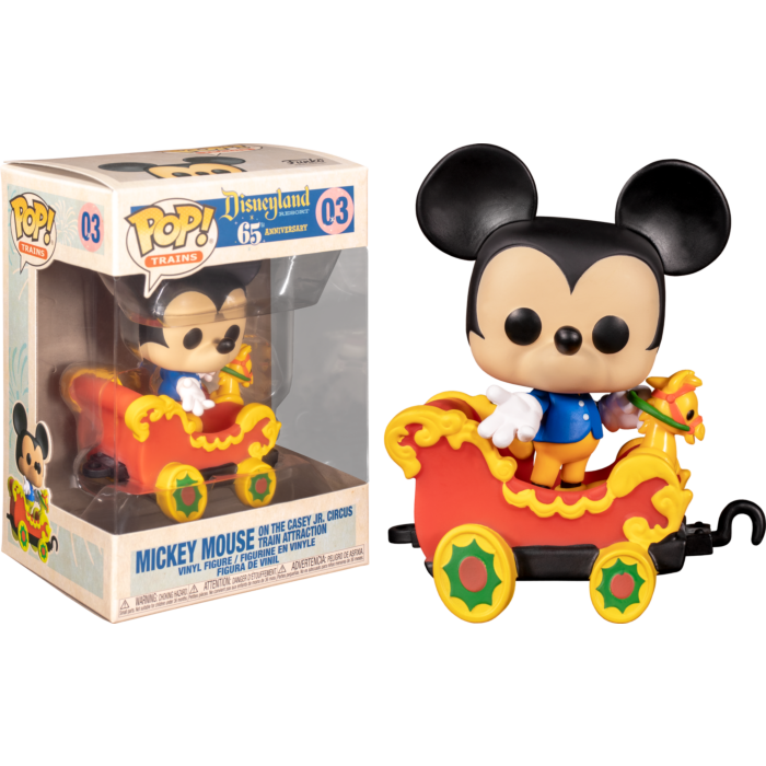 Pop! Trains: Casey Jr. - Mickey in Carriage - Sheldonet Toy Store