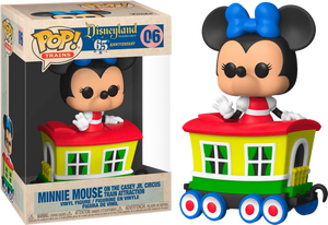 Pop! Trains: Casey Jr. - Minnie in Carriage (Exclusive) - Sheldonet Toy Store