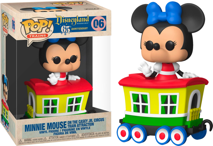 Pop! Trains: Casey Jr. - Minnie in Carriage (Exclusive)