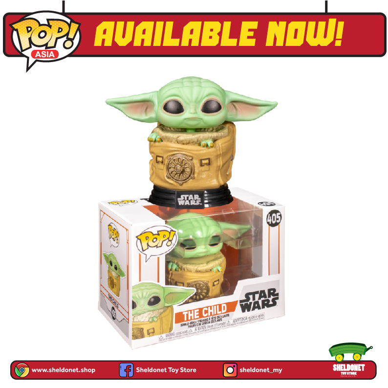 Pop! Star Wars: The Mandalorian - The Child in Bag - Sheldonet Toy Store