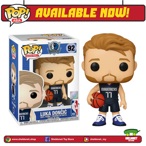 Pop! NBA: Dallas Mavericks - Luka Dončić (Alternate) - Sheldonet Toy Store