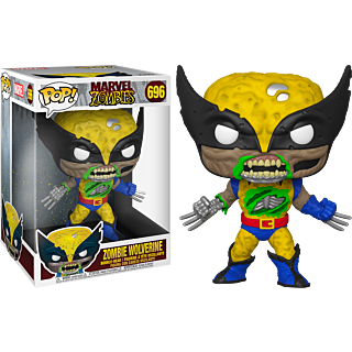 "Pop! Marvel: Marvel Zombies - Wolverine 10"" Inch (Exclusive) - Sheldonet Toy Store"