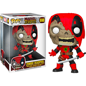 "Pop! Marvel: Marvel Zombies - Deadpool 10"" Inch (Exclusive) - Sheldonet Toy Store"