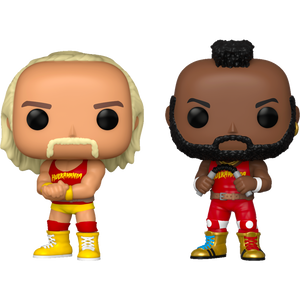 Pop! WWE : Hulk Hogan & Mr. T (2-Pack) [Exclusive] - Sheldonet Toy Store