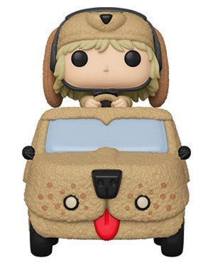 Pop! Rides: Dumb and Dumber - Harry Dunne with Mutt Cutts Van - Sheldonet Toy Store