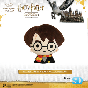 HARRY POTTER - Harry Potter 2D Figural Cushion - Sheldonet Toy Store