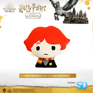 HARRY POTTER - Ron Weasley 2D Figural Cushion - Sheldonet Toy Store