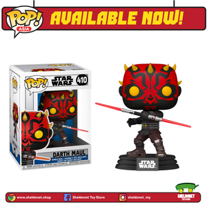 Pop! Star Wars: Clone Wars - Darth Maul - Sheldonet Toy Store