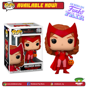 [PREORDER] Pop! Marvel: Wandavision - Halloween Wanda - Sheldonet Toy Store