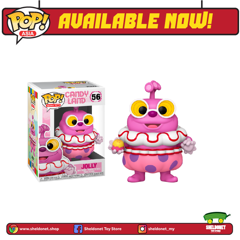 Pop! Vinyl: Candyland - Jolly - Sheldonet Toy Store