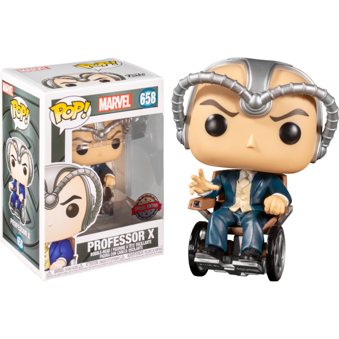 Pop! Marvel: X-Men - Professor X (Cerebro) [Exclusive] - Sheldonet Toy Store