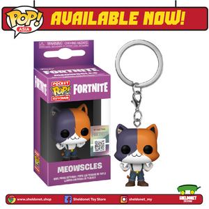 Pocket Pop! : Fortnite - Meowscles - Sheldonet Toy Store