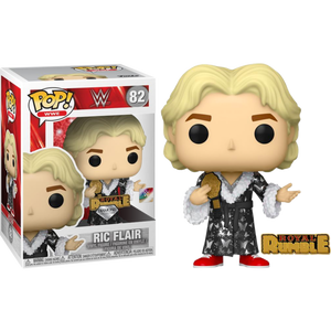 Pop! WWE: Royal Rumble 92' Ric Flair with Pin (Diamond Glitter) [Exclusive] - Sheldonet Toy Store