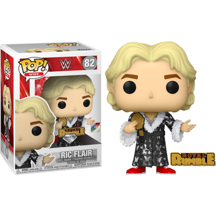 Pop! WWE: Royal Rumble 92' Ric Flair with Pin (Diamond Glitter) [Exclusive]