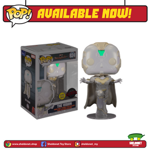 Pop! Marvel: Wandavision - The Vision (Glow In The Dark) [Exclusive]