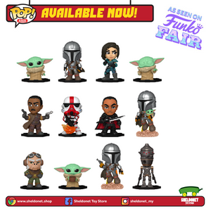 Mystery Minis: Star Wars - The Mandalorian - Sheldonet Toy Store