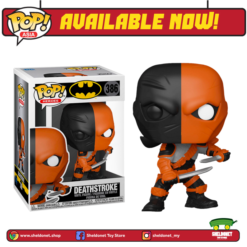Pop! Heroes: DC - Deathstroke (Exclusive) - Sheldonet Toy Store