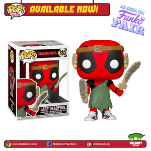 Pop! Marvel: Deadpool 30th Anniversary - Larp Deadpool - Sheldonet Toy Store